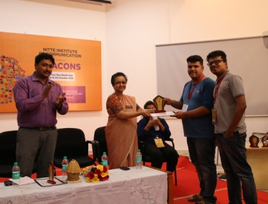 St Aloysius College emerges winner in national level quiz at 'Beacons' media fest