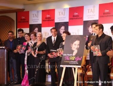 Asha Parekh Book Unveiling of her Autobiography `The Hit Girl' by Salman Khan