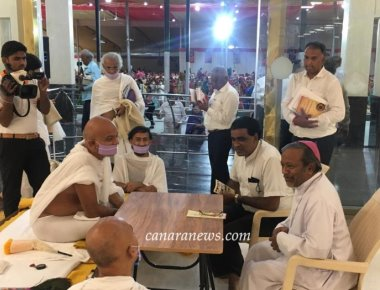Archbishop Machado Reaches out to Acharya Mahashraman