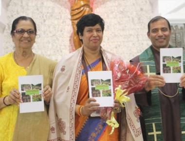 Book on community development released at Infant Jesus Shrine, Bikarnakatte
