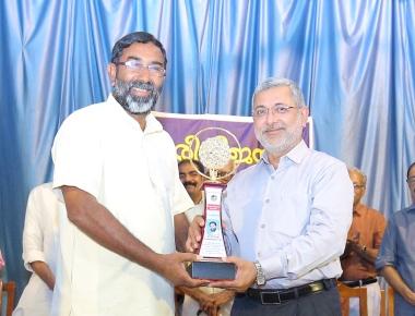 Dr. John  Chirayath Award for Fr. George Kannanthanam