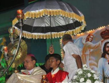 Udupi Diocesan Eucharistic Procession held with great fervour and devotion at Udupi