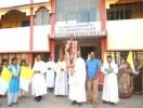 ಕುಂದಾಪುರಕ್ಕೆ ರಾಷ್ಟ್ರೀಯ ಯುವ ಸಮ್ಮೇಳನೋತ್ಸೊವದ ಶಿಲುಬೆ ಯಾತ್ರೆ