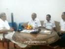 ಡಾ  ವೀರೇಂದ್ರ ಹೆಗ್ಗಡೆ ಅವರನ್ನು ಭೇಟಿಗೈದ ಎ.ಸಿ ಭಂಡಾರಿ