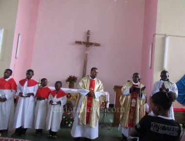 Feast and Baptisms at Mpadagindo