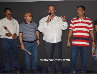 'Kamalabettu  Bhatrena Magal' Tulu film a hatrick house full show in Abu Dhabi