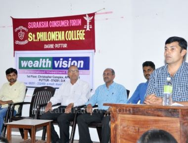 Awareness Programme on PAN at St Philomena College Puttur