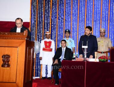 Justice Waghela takes oath as Chief Justice of the Bombay High Court