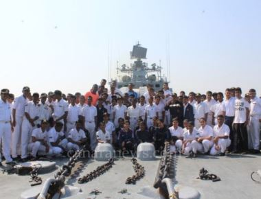 Day at Sea for NCC and SCC Cadets