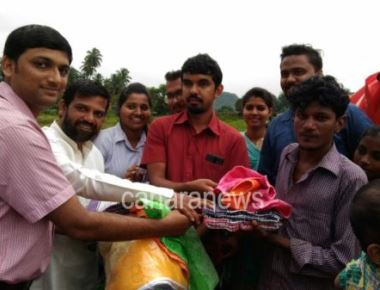 Outgoing ICYM Central Council distributes blankets to the poor