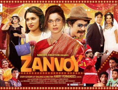 Super Hit Konkani Movie  ' Zanvoy No. 1' to be released in London on 17th March
