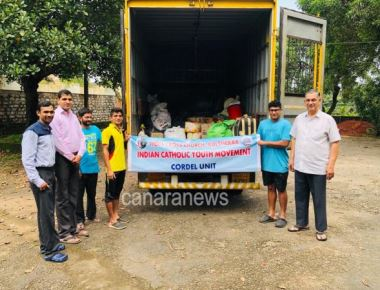 ICYM Mangalore Diocese initiates Mission KA-2019 - A humanitarian work towards families of flood affected areas in Karnataka and Kerala