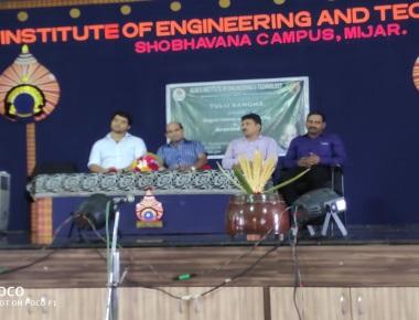 TULUNADA MANIKYA Sri ARAVIND BOLAR inaugurated the Tulu Sangha Cultural Program On 25-09-19 at AIET Auditorium Mijar