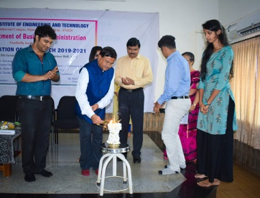 Inauguration of MBA Batch 2019-2021  at Alvas Institute of Engineering and Technology