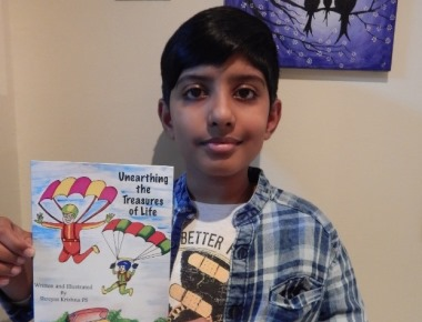 MANGALURIAN WONDER BOY SHREYAS KRISHNA's 'UNEARTHING THE TREASURES OF LIFE' PUBLISHED WORLDWIDE