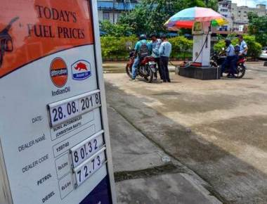 Sena mocks Modi's 'achhe din' promise as fuel prices soar