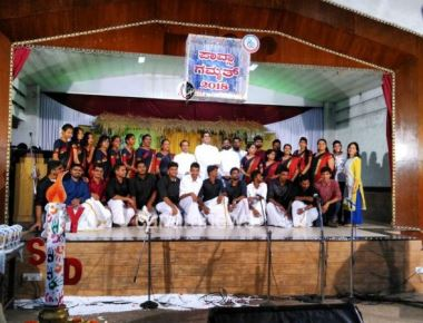 YSD - ICYM Derebail Unit celebrates Pavsa Gammath with great pomp.