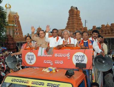 In Nanjangud, Srinivas Prasad makes 'betrayal' an election issue