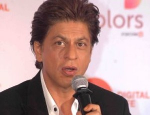 Shahrukh Khan during announcement the 63rd Jio Filmfare Awards 2018 at press conference in Mumbai