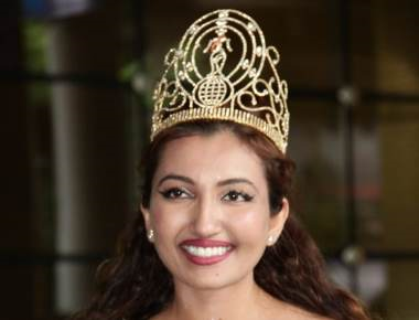Miss India Worldwide Shree Saini on her maiden visit to India