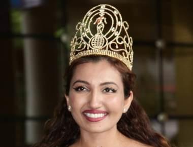 Miss India Worldwide Shree Saini on her maiden visit to India
