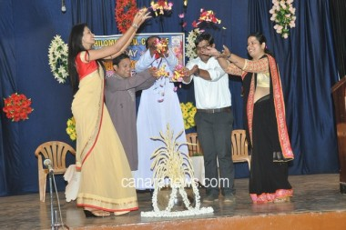 Talents Day inaugurated at St Philomena PU College Puttur