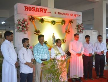 Sacred Heart of Jesus Church, Madanthyar organizes Rosary Exhibition and Night Vigil