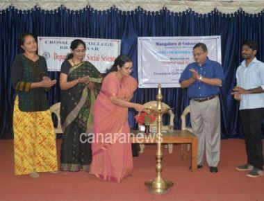 Women is not inferior to men and needs to be treated equally: Dr.Anitha Ravi Shankar