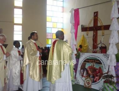 Inauguration of the Golden Jubilee of the Parish of St. Martin of Tours, Mpandangindo