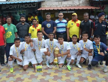 Bengaluru's MAGIC FEET  wins 5th  All India Under-15  Football tournament