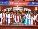 ಭಾರತ್ ಬ್ಯಾಂಕ್ ಕೇಂದ್ರ ಕಚೇರಿಯಲ್ಲಿ 41ನೇ ಸಂಸ್ಥಾಪನಾ ದಿನಾಚರಣಾ ಸಂಭ್ರಮ