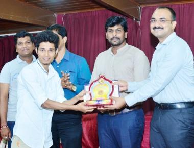 University Evening College student Preethesh Kumar's movie 'Dark Pain' secures 1st place