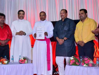 Saint Anthony's Ashram Jeppu holds Muhurtha of Kannada T.V. Serial  'Miracles of Saint Anthony'