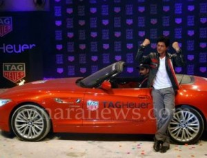 Shahrukh Khan and brand ambassador for Tag Heuer launches Don't Crack Under Pressure