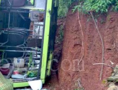 11 injured after private bus rolls over