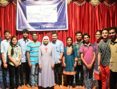 St Aloysius College organises theatre workshop 'Rangadarpana'