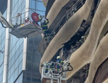 4 killed, 16 injured in fire in Mumbai high-rise residential building