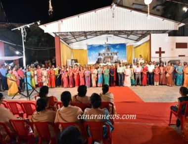 New Year Celebrations at Most Holy Redeemer Church, Derebail