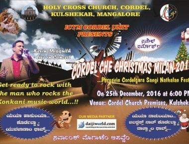ICYM organises 'Cordelche Christmas Milan'