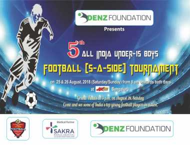 5th All India under -15 Boys Football Turnament in Bengaluru