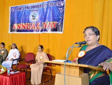 St Agnes PU celebrates college day