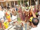 ಕುಂದಾಪುರ: ಶ್ರೀ ವ್ಯಾಸರಾಜ ಮಠ ದೇವರ ರಜತ ಪೀಠ ಸಮರ್ಪಣೆ