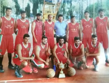 Mangaluru Basketball Club men's team  win tournament