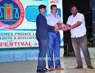Award function of 4th HHF Celebration at Navi Mumbai
