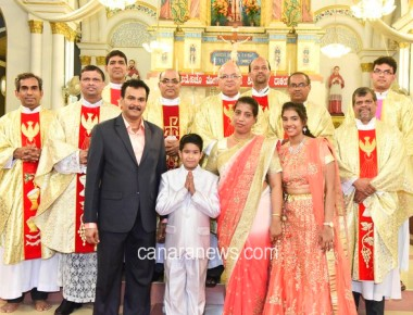 Ronwin Bantwal – First Holy Communion Celebration at Mangaluru