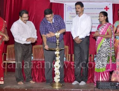 Blood donation awareness programme held at Sri Ramakrishna College