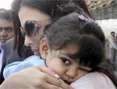 Aaradhya has got used to paparazzi: Aishwarya