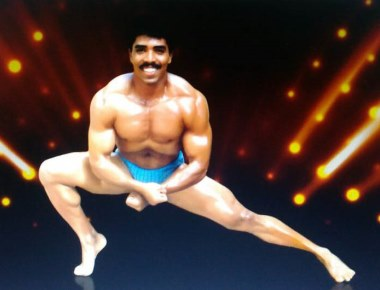 ACP Valentine D'Souza representing India in International Body Building Competitions