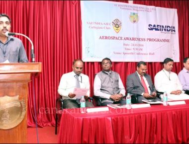 Aerospace awareness programme held at SJEC