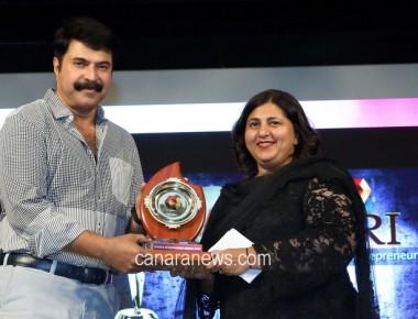 KEF Holdings' Shabana Faizal wins First-ever Kairali TV NRI Entrepreneur Award